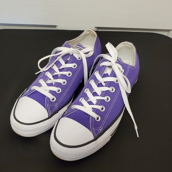 Converse All Stars Purple Low Top Unisex Sneakers